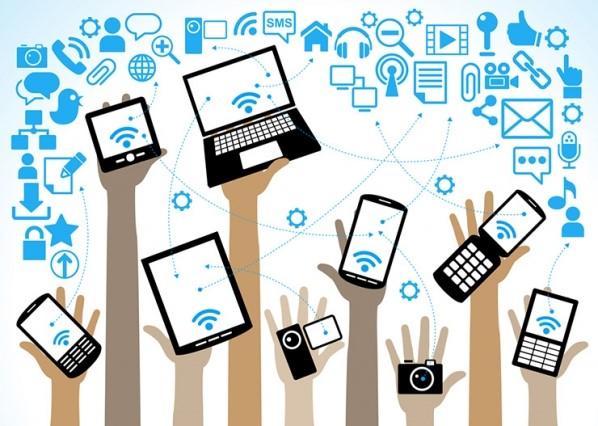 نحوه دسترسی به رسانه های اجتماعی