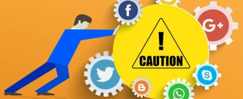 کارهایی که نباید در رسانه های اجتماعی انجام داد